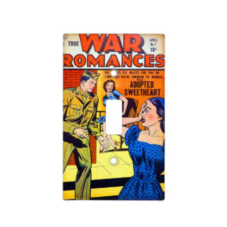 True War Romances #7 Light Switch Cover