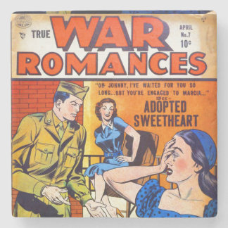 True War Romances #7 Stone Coaster