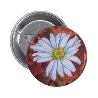 True Wild Daisy from Yorktown 2 Inch Round Button