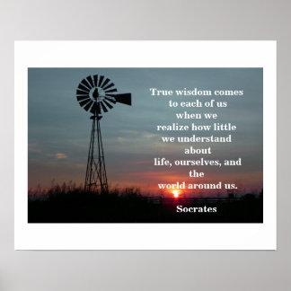 True Wisdom Poster