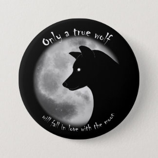 True Wolf Pin