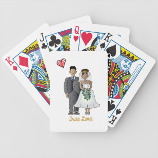 Truelove1 Bicycle Playing Cards
