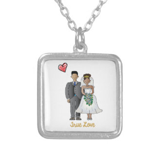 Truelove1 Silver Plated Necklace