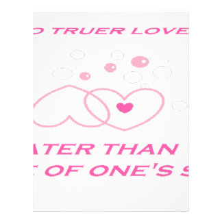 truer love statement letterhead