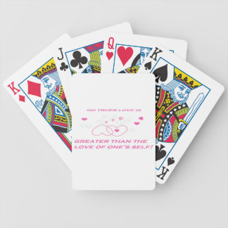 truer love statement poker deck