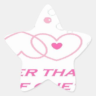 truer love statement star sticker