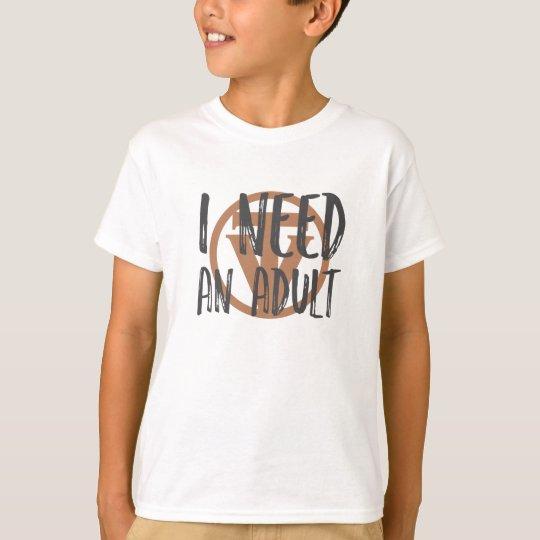 TrueVanguard - I need and Adult! - Kids tee