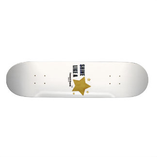 "TRUEWALK BOARDS 7¾"" STAR BOARD SKATE DECK"