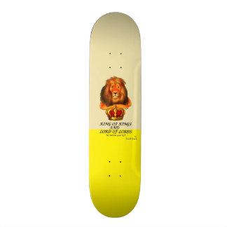 """TRUEWALK KING GOLD BOARD 7¾"""" SKATEBOARD"""