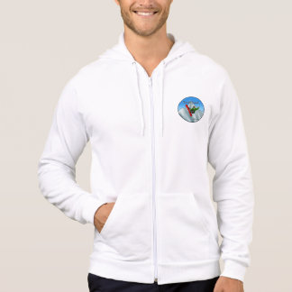 TRUEWALK SNOWBOARD Men's Fleece Zip  Hood Hoodie