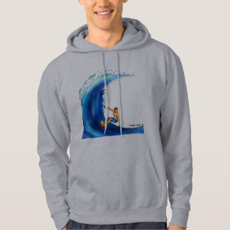 TRUEWALK WAVE Men's Basic Hooded Sweatshirt