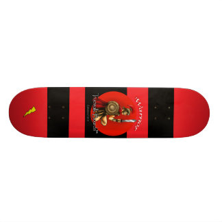 "TRUEWALKBOARDS 7¾""  WARRIOR LIGHTNING BOARD SKATE DECK"
