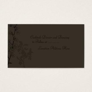 Truffle (Reception Card) Business Card