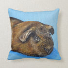 Truffle the Guinea Pig Throw Pillow