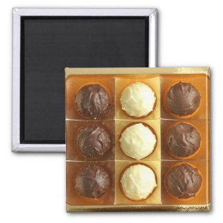 truffles square magnet