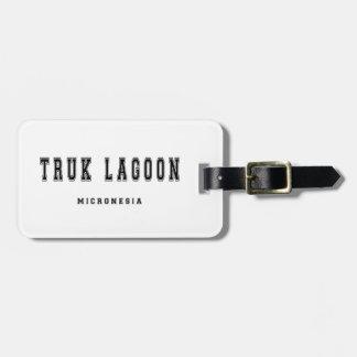 Truk Lagoon Micronesia Luggage Tag
