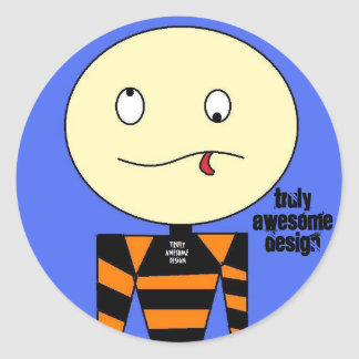 truly awesome design   ed the head    sticker
