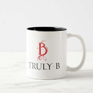 Truly B Two-Tone Coffee Mug