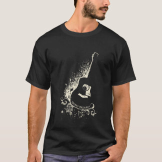 Truman Guitar Outline T-Shirt