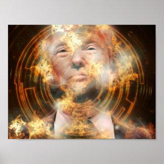 "Trump 11"" x 8.5"", Value Poster Paper (Matte)"