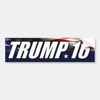 Trump '16 bumper sticker