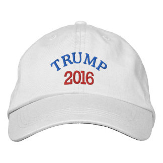 TRUMP 2016 Basic Adjustable Cap Embroidered Baseball Caps