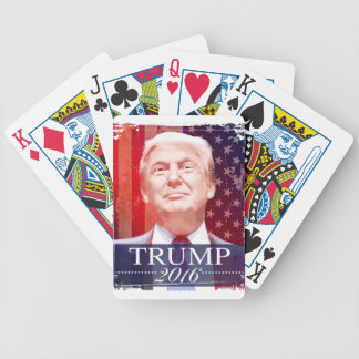 Trump 2016 bicycle playing cards