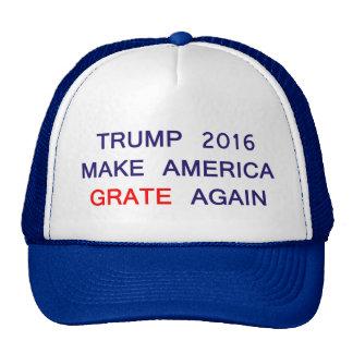 Trump 2016 Funny Parody Trucker Hat