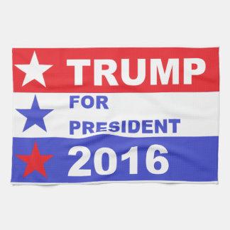 Trump 2016 hand towel