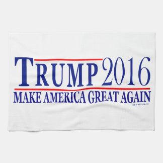 Trump 2016 make America Great Again Hand Towels