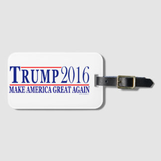 Trump 2016 make America Great Again Luggage Tag