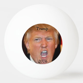 Trump 2016 Ping Pong Ball