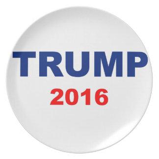 Trump 2016 plate