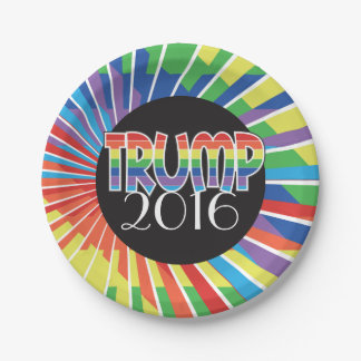 TRUMP 2016 themed Party Supplies Election Gear Paper Plate