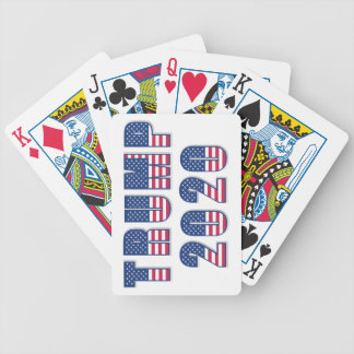 Trump 2020 bicycle playing cards