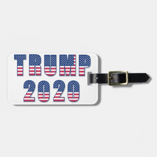 Trump 2020 luggage tag