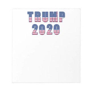 Trump 2020 notepad
