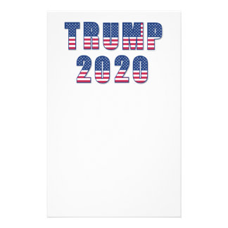 Trump 2020 stationery