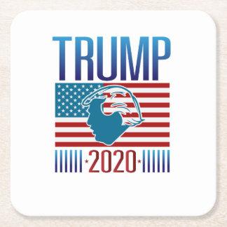 Trump 2020s - Trump Square Paper Coaster