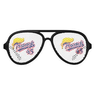 Trump 45 aviator sunglasses