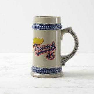 Trump 45 beer stein