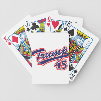 Trump 45! bicycle playing cards