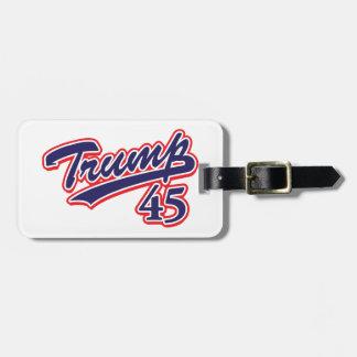 Trump-45-Blue Luggage Tag