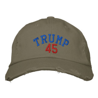 TRUMP 45 Cap - Light Olive