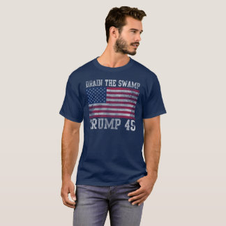 Trump 45 Drain The Swamp T-Shirt