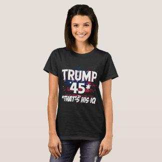 Trump 45 IQ T-Shirt