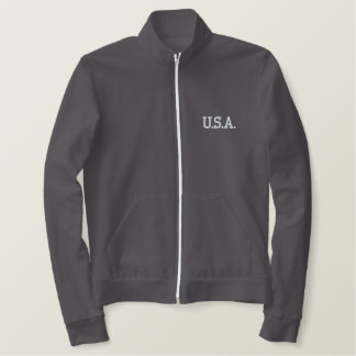 TRUMP 45 LADIES FLEECE ZIP JACKET
