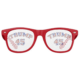 Trump 45 Party Shade Glasses