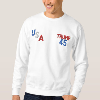 TRUMP 45 USA MEN'S BASIC SWEATSHIRT