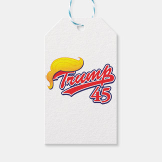 Trump-45-with-Hair Gift Tags
